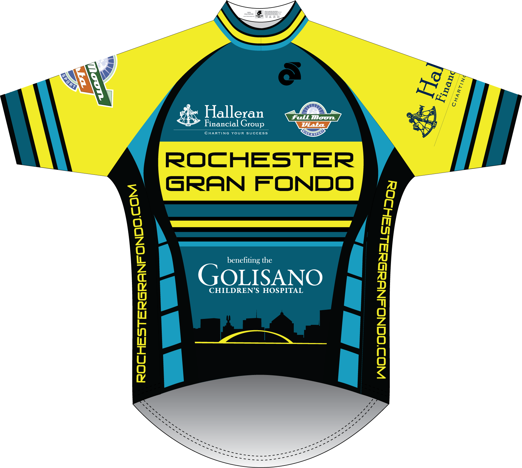 Jersey for 100 and 50-mile riders