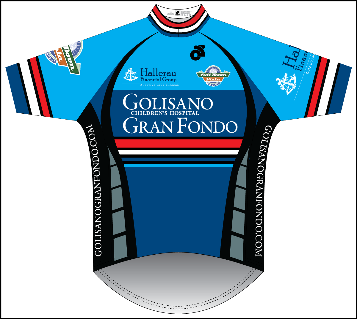 Jersey for 50-mile riders